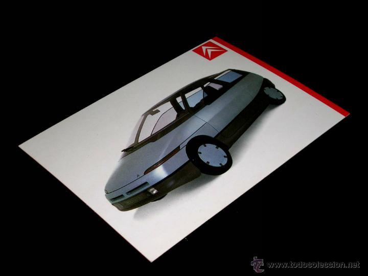 Postales: Grupo postal 4 postales, promocional Citroën CX GTI turbo; BX; Visa; Eco. Original 1985. - Foto 6 - 48943217
