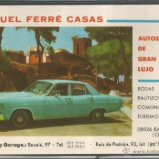 Postales: AUTOS DE GRAN LUJO - MIGUEL FERRÉ CASAS - P7912. Lote 49154108