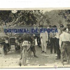 Postales: (PS-45653)POSTAL FOTOGRAFICA DESCONOCIDA-CARRERA AUTOMOVILISTICA. Lote 49765104