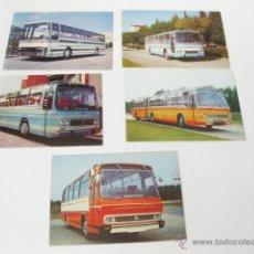 Postales: LOTE DE 5 POSTALES DE AUTOCARES PEGASO - POSTAL AUTOCAR 6031-A 6031-N 6031-L/4 5031-L/4 5035-N. Lote 49937330