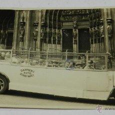 Postales: FOTO POSTAL DE AUTOBUS TURISTICO EN KÖLN, COLOGNE, ALEMANIA, DAHMEN'S AUTO-RUNDFAHRT, NO CIRCULADA.. Lote 50229566