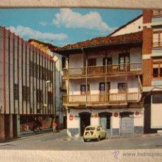 Postales: ANTIGUA POSTAL ORIGINAL AÑOS 40/50. COCHE COCHES SEISCIENTOS 600. Lote 50412698
