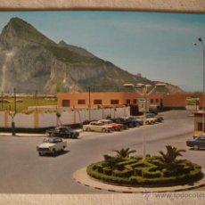 Postales: ANTIGUA POSTAL ORIGINAL AÑOS 40/50. COCHE COCHES SEAT 1500 LINEA CONCEPCION CADIZ. Lote 50412768
