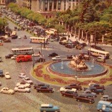 Postales: ANTIGUA POSTAL ORIGINAL AÑO 1964 COCHE COCHES MADRID. Lote 50412944