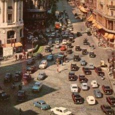 Postales: ANTIGUA POSTAL ORIGINAL AÑO 1961. COCHE COCHES MADRID . Lote 50412992