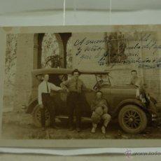 Postales: POSTAL ANTIGUA COCHE FOTOGRAFICA. Lote 50596875