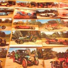 Postales: 20 POSTALES COCHES ANTIGUOS -EDITADAS EN FRANCIA-. Lote 50922749