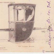 Postales: LITERA DE CARLOS IV. FRANQUEADO Y FECHADO EN 1901.. Lote 50986268