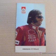 Postales: EMERSON FITTIPALDI - MARLBORO TEXACO 1974 - INTERLAGOS - FOTO - IMPECABLE. Lote 51513935