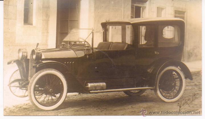 FOTO (REPRODUCCIÓN ) COCHE ANTIGUO (Postales - Postales Temáticas - Coches y Automóviles)
