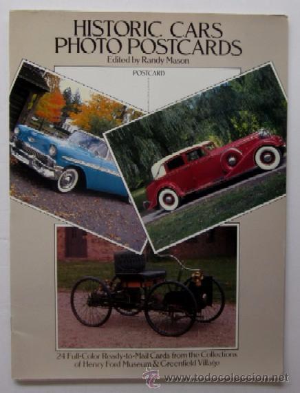 COLECCION DE 24 POSTALS DE COCHES - HISTORIC CARS (Postales - Postales Temáticas - Coches y Automóviles)