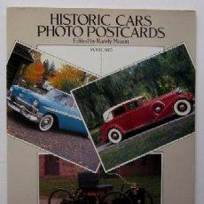 Postales: COLECCION DE 24 POSTALS DE COCHES - HISTORIC CARS. Lote 51931505
