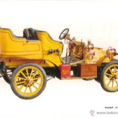 Postales: POSTAL COCHE DE EPOCA, VAUXHALL 12/14 H.P. 1904 - EDITA CPVA 3 - SIN CIRCULAR. Lote 52435717