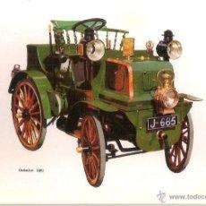 Postales: POSTAL COCHE DE EPOCA, DAIMLER 1897 - EDITA CPVA 4 - SIN CIRCULAR. Lote 52435779