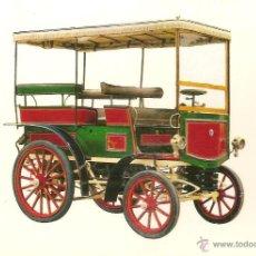 Postales: POSTAL COCHE DE EPOCA, BENZ 1899 - EDITA CYZ Nº 6841 - SIN CIRCULAR. Lote 52435965