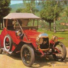 Postales: POSTAL COCHE DE EPOCA, PHILOS 1914 - EDITA ESCUDO DE ORO Nº 6 - SIN CIRCULAR. Lote 52436575