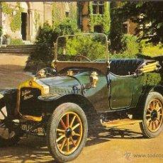 Postales: POSTAL COCHE DE EPOCA, DE DION BOUTON 1912 - EDITA ESCUDO DE ORO Nº 14 - SIN CIRCULAR. Lote 52436621