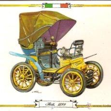 Postales: POSTAL COCHE DE EPOCA, FIAT 1899 - EDITA RAKER Nº 8049 - ESCRITA. Lote 52454900
