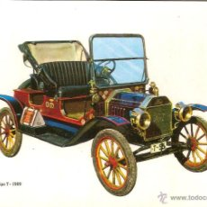 Postales: POSTAL COCHE DE EPOCA, FORD TIPO T 1909 - EDITA C.P.V.A. C 7 - SIN CIRCULAR. Lote 263207195