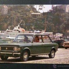 Postales: POSTAL CIRCULADA DE FIAT 128. AÑO 1970. Lote 52637088