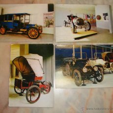 Postales: LOTE DE 4 POSTALES COCHES . Lote 52894895