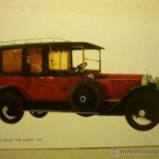Postales: POSTAL AUTOMOVIL -ROLLS ROYCE--ESCRITA-CM. Lote 53401708