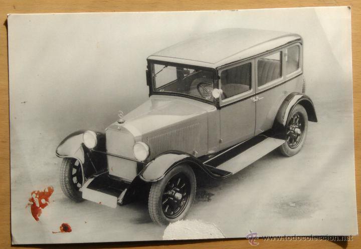 MERCEDES BENZ - 8/38 CV (1927) (Postales - Postales Temáticas - Coches y Automóviles)