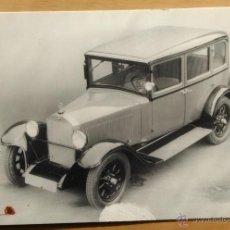 Postales: MERCEDES BENZ - 8/38 CV (1927). Lote 54093605