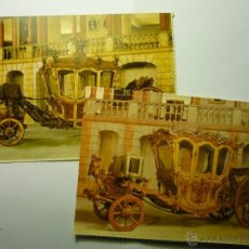 Postales: LOTE POSTALES MUSEO CARRUAJES - EXTRANJERAS CM. Lote 54716675