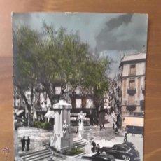 Postales: ANTIGUOS COCHES EN CALLE GERONA DE FIGUERAS. Lote 54890826