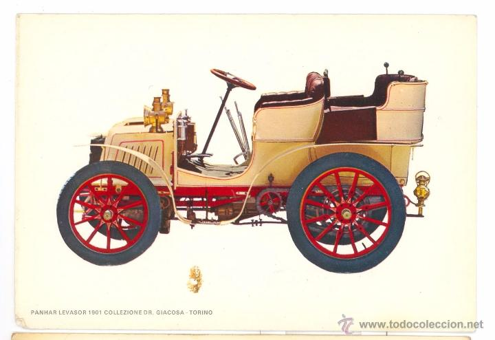 PANHAR LEVASOR 1901 POSTAL (Postales - Postales Temáticas - Coches y Automóviles)