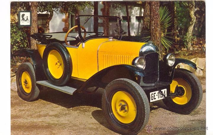 CITROËN 5 HP 1920. POSTAL (Postales - Postales Temáticas - Coches y Automóviles)