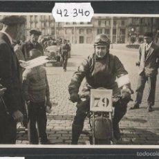 Postcards - POSTAL ANTIGUA CARRERA MOTOS - (42.340) - 55846380