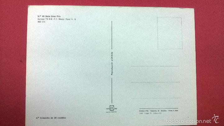 Postales: POSTAL FORMULA 1-MIKE HAILWOOD -GB - Foto 2 - 55939341
