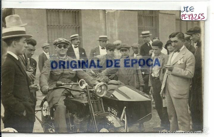 (PS-48265)POSTAL FOTOGRAFICA DE CARRERA AUTOMOVILISTICA AÑOS 20-30 (Postales - Postales Temáticas - Coches y Automóviles)