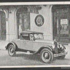 Postales: POSTAL AUTOMOVIL PUBLICIDAD CHRYSLER - (42.791). Lote 56239032