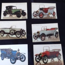 Postales: POSTALES COCHES ANTIGUOS. Lote 56301455