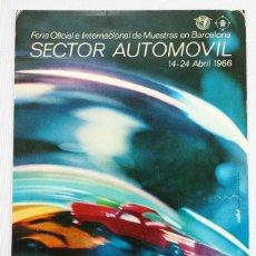 Postales: POSTAL PUBLICITARIA FERIA DE MUESTRAS BARCELONA SECTOR AUTOMOVIL 15X10 1966 SIN ESCRIBIR NI CIRCULAR. Lote 57505742