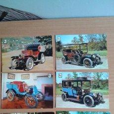 Postales: LOTE DE 14 POSTALES DE COCHES DE EPOCA SERIE A. Lote 57806410