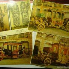 Postales: LOTE POSTALES EXTRANJERAS CARRUAJES.--CM. Lote 57975298