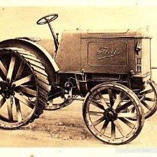 Postales: RARA POSTAL DE LA CASA FIAT - EL TRACTOR TRAFFICE AGRICOLA TIPO 702 - RURAL . Lote 57975666