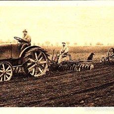 Postales: RARA POSTAL DE CASA FIAT - EL TRACTOR TRAFFICE AGRICOLA TIPO 702 ERPICATURA EXPO BARNA 1919. Lote 57975913