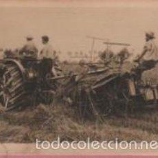 Postales: RARA POSTAL DE CASA FIAT - EL TRACTOR TRAFFICE AGRICOLA TIPO 702 EXPO BARNA 1919 - SEGADORA. Lote 57976289