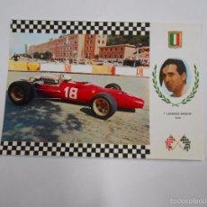 Postales: POSTAL F-1 AUTOMOVILISMO FORMULA UNO. SERIE GRAN PRIX. Nº 9. LORENZO BANDINI. ITALIA. TDKP7. Lote 58212851