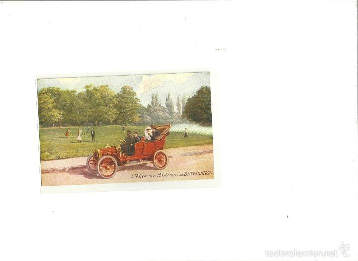 3228.-COCHES-AUTOMOVILES- LA 4 CYLINDRES 12 CHERAUX DE DION-BOUTON (Postales - Postales Temáticas - Coches y Automóviles)