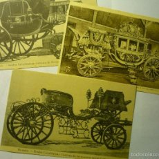 Postales: LOTE POSTALES CARRUAJES - MADRID -VERSALLES--CM. Lote 58808316