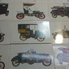 Postales: ANTIGUAS POSTALES DE COCHES. Lote 60454235