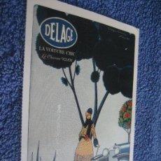 Postales: POSTAL COCHE Y AUTOMOVILES: DELAGE. 1926. Lote 60455687
