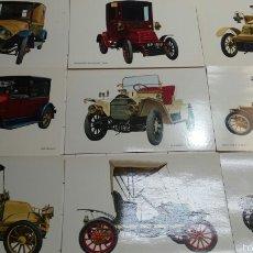 Postales: ANTIGUAS POSTALES DE COCHES. Lote 60455917