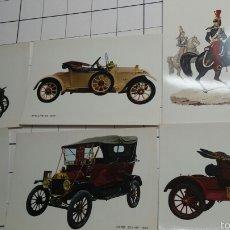 Postales: ANTIGUAS POSTALES DE COCHES. Lote 60456367